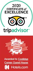 trip advisor award brookline bed and breakfast inn